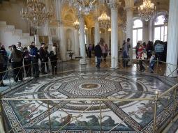 Floor mosaic, Winter Palace