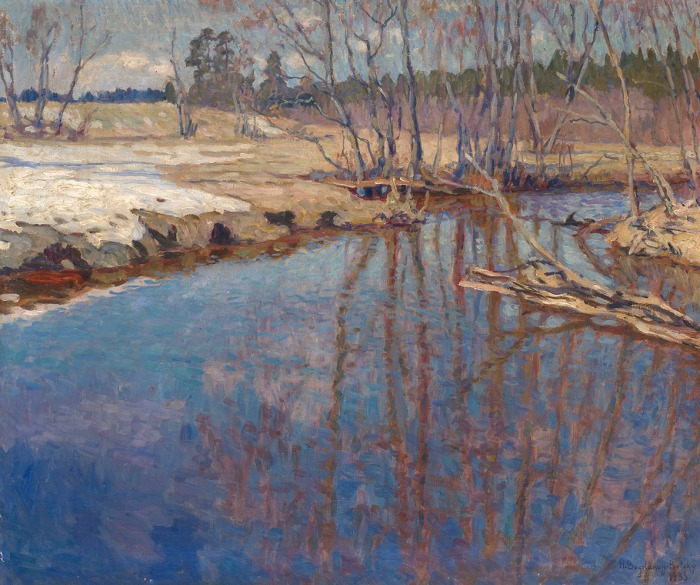 Melted Water, by Nikolay Bogdanov-Belsky