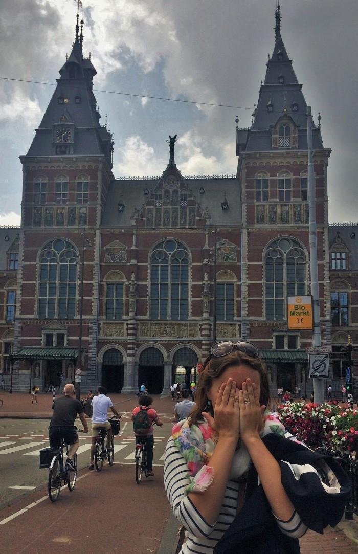 Bikes in Amsterdam are INSANE